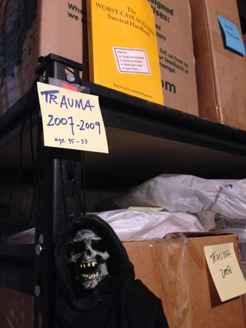 Skeleton in my Closet: FTD-life-trauma 2007-09