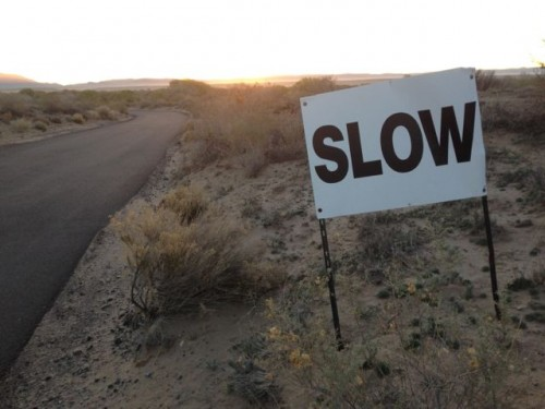 Desert Speed: Slow