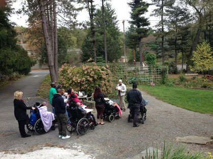 accessible gardens introduced by Mary
