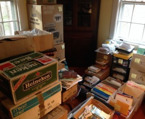Stationery, Personal Files, and Family Memories Move-In