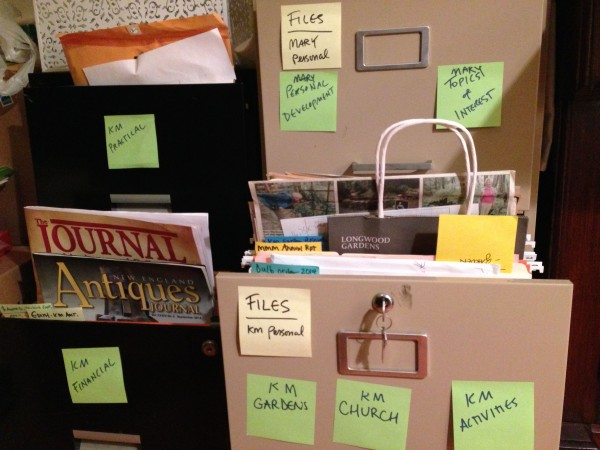 Personal Files Organized at Last!